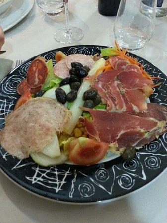 El Forn Restaurante : Ensalada