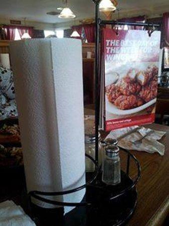 Pizza Hut: the famous paper towel