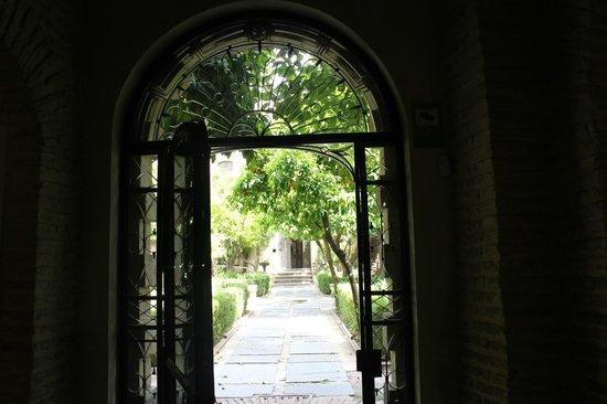 Hospes Palacio del Bailio : jardin