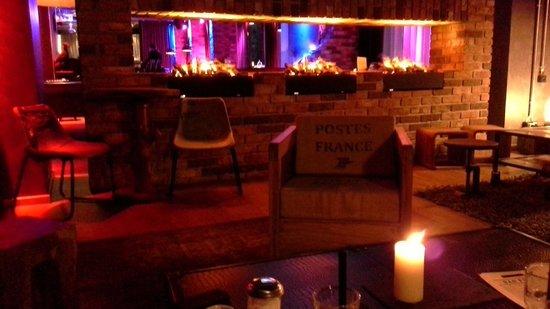 pentahotel Prague: the cosy bar