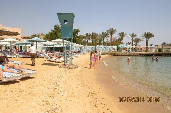MinaMark Beach Resort: the beach at the Hotel