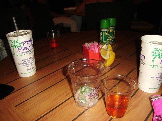 Palm Pavilion Beachside Grill & Bar: Fireball