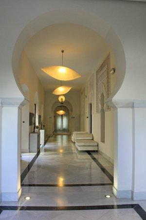 Hospes Palacio del Bailio : couloir