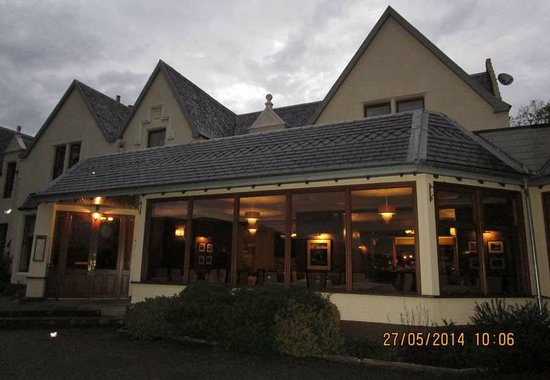 Cuillin Hills Hotel : The Hotel at Dusk