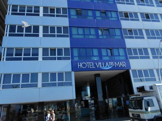 Villa Del Mar Hotel: front of hotel