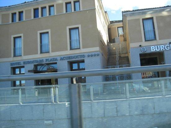 Eurostars Plaza Acueducto: Fachada del Hotel