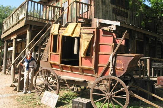 Enchanted Springs Ranch: Stagecoach