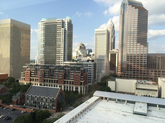 Westin Charlotte : View from room