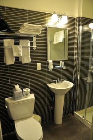 Seton Hotel: Baño