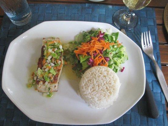 Le Taitu: Our meal