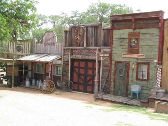 Enchanted Springs Ranch: Western town