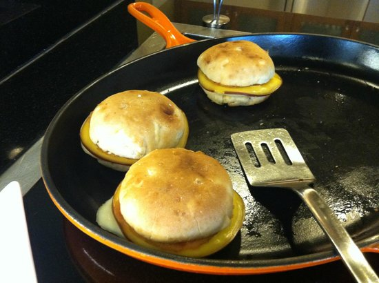 Hyatt Place UC Davis: Breakfast Sandwich with Meat