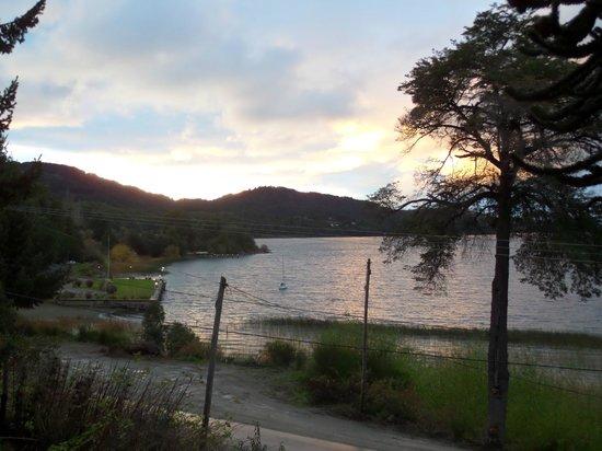 Los Juncos - Lake House: Vista!!!