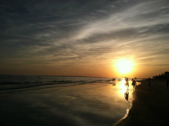 Fort Myers Beach : sunset fmb