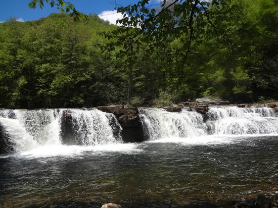 Durbin and Greenbrier Valley Railroad: HIGH FALLS OF CHEAT