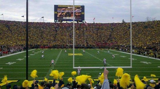 Michigan Stadium : Michigan vs. ohio st.
