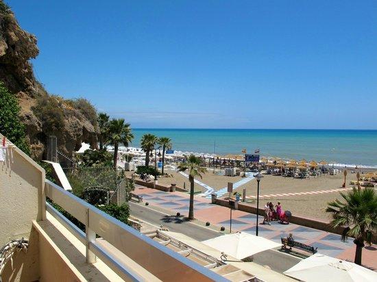 Apartamentos Roca Chica: Вид с балкона