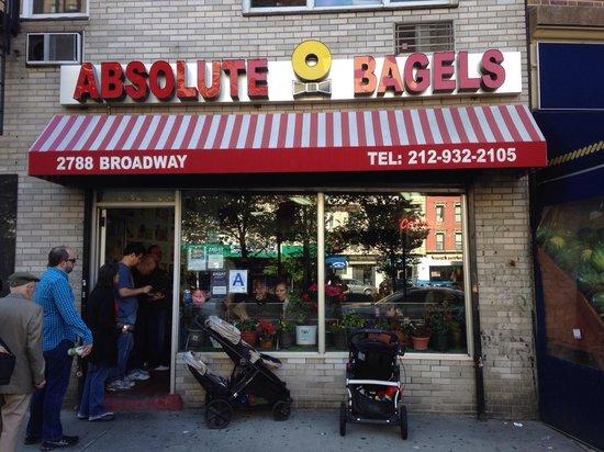 Absolute Bagels: Coda fuori dalla porta?!