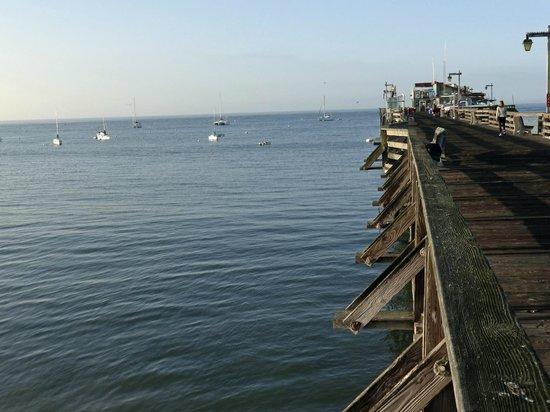 Capitola City Beach : Capitola Wharf