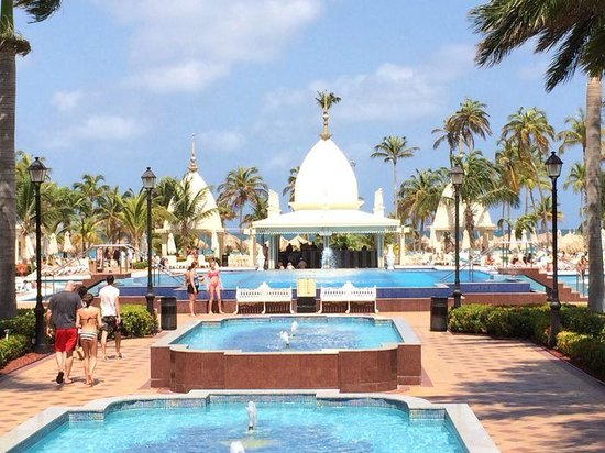 Hotel Riu Palace Aruba: Piscinas