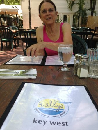 Kelly's Caribbean Bar, Grill and Brewery: A well deserved rest