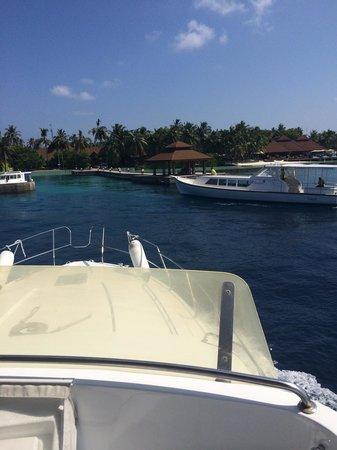 Kurumba Maldives: Notre arrivée à Kurumba
