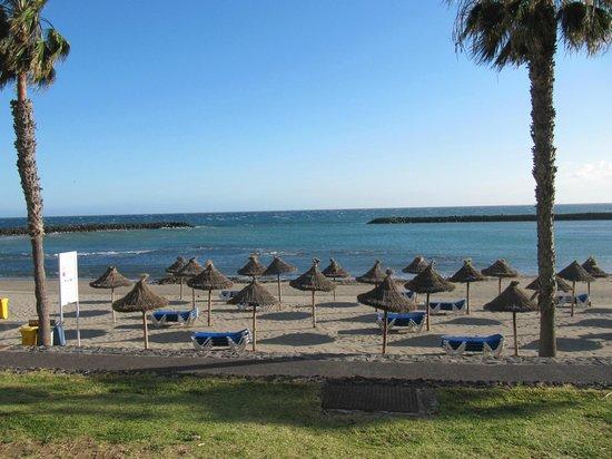 Cleopatra Palace Hotel: Пляж