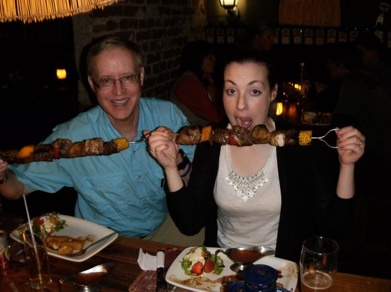 Joe's Beer House : Enjoying Bushman kabob