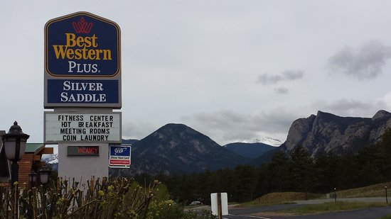 BEST WESTERN PLUS Silver Saddle Inn: The entrance