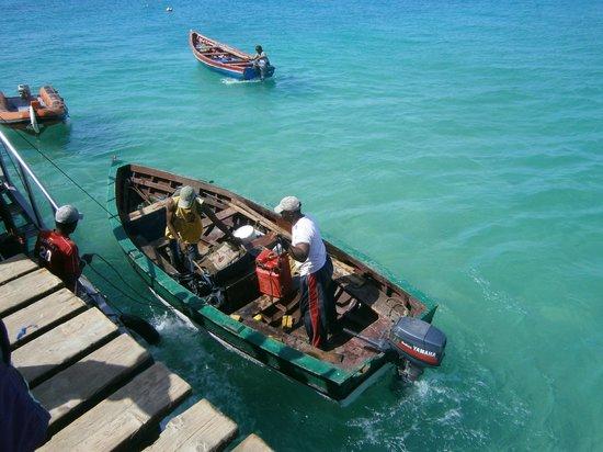 VOI Vila do Farol: Foto dal pontile di pescatori