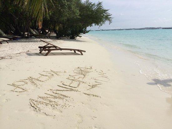 Kurumba Maldives: Pas mal
