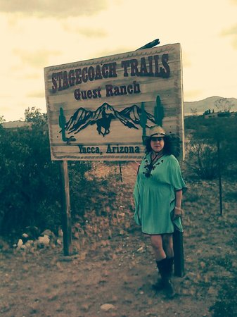 Stagecoach Trails Guest Ranch: entrada al Rancho