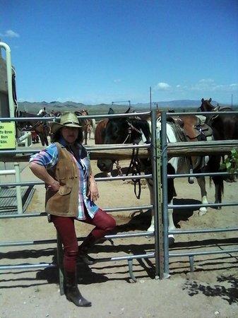 Stagecoach Trails Guest Ranch: preparada para montar