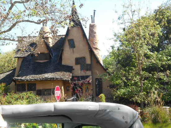 Hollywood Hills: the witches house