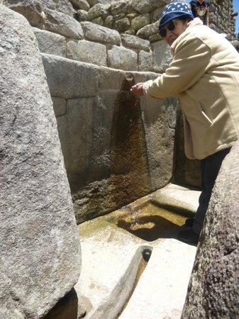 Tipón: las fuentes de agua