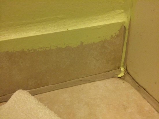 Econo Lodge: I'm no pro painter, but I think I could have done a little better than this ;)