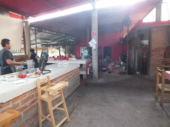 Sonora Al Sur: Another Grill view