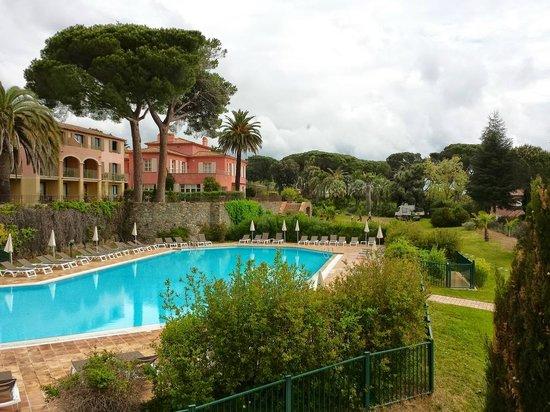 Bagno Camera Vista Piscina Bild Fr N Hotel Les Jardins