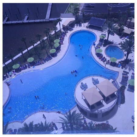 Hard Rock Hotel & Casino Biloxi: Pool View