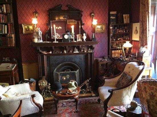 Sherlock Holmes Museum: My favourite room