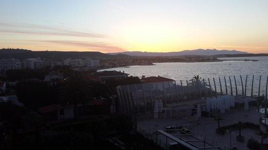Sheraton Cesme Hotel Resort & Spa : otelden ege denizi