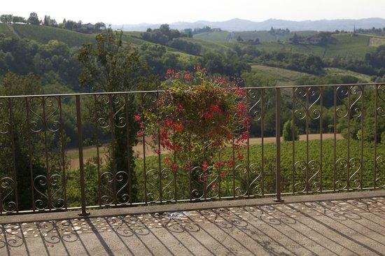 La Villa Hotel: View from room & terrace