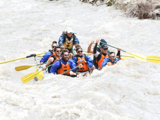 Whitewater Rafting, LLC: CO River running high