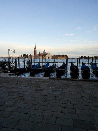 B&B San Giacomo Venezia : Gondolas and San Giorgio Maggiore