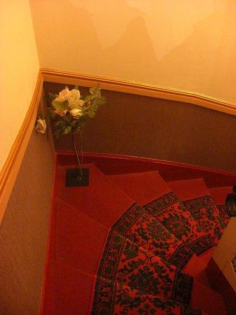 Hotel d'Argenson : Scale dell'Hotel