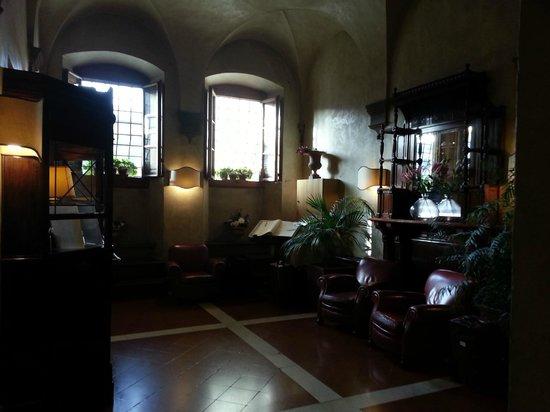 Hotel Loggiato dei Serviti : Reception