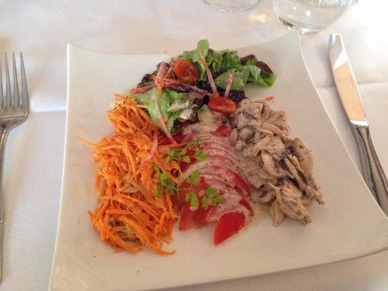 Relais du Lion D'or : Vegetarian starter