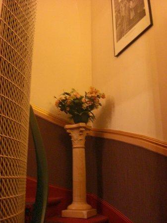Hotel d'Argenson : Particolare della scala dell'Hotel