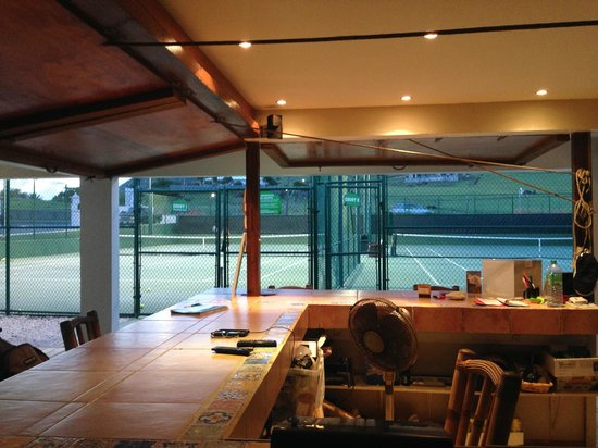 American Tennis Academy : view from the Bar