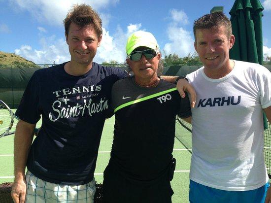 American Tennis Academy : On court